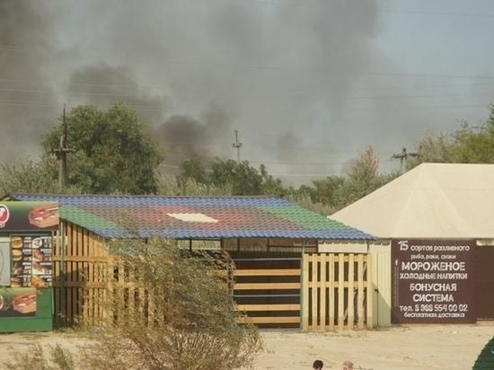 Под Ростовом на площади семь гектар локализовали ландшафтный пожар
