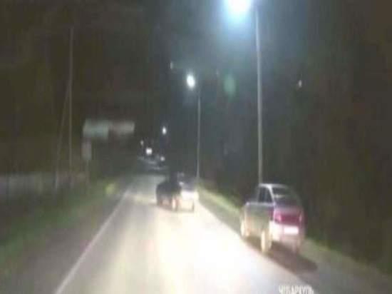 В Челябинской области погоня за пьяным нарушителем закончилась аварией