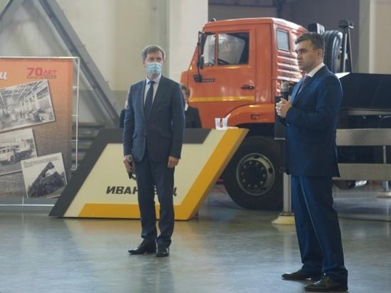 Ивановский губернатор обсудил ситуацию с коронавирусом с работниками одного из предприятий