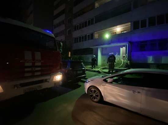 При пожаре екатеринбургской многоэтажке погибла женщина