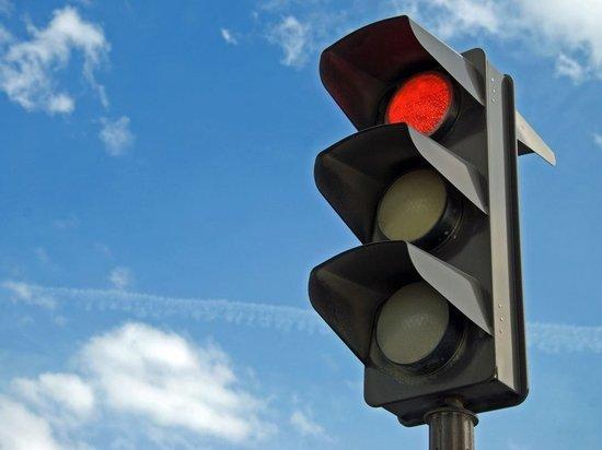 Новый светофор появился в Серпухове