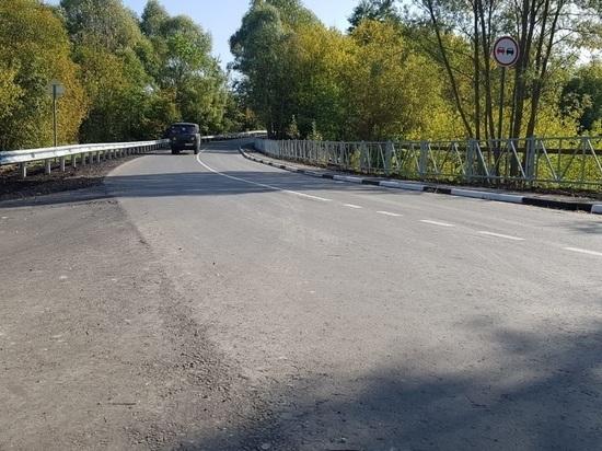 В Рязанской области отремонтировали еще одну дорогу по нацпроекту