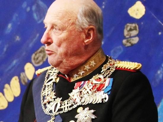 83-летний король Норвегии госпитализирован