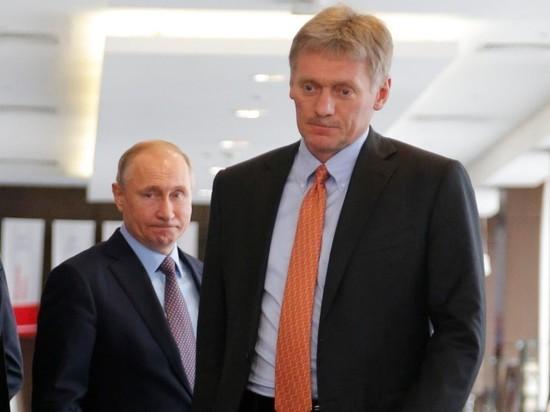 Кремль не видит доказательств отравления Навального химоружием