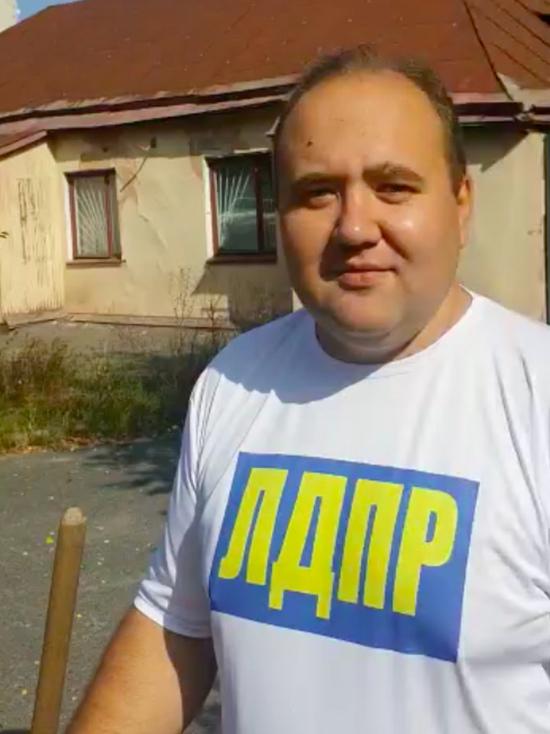 Лидер курских жириновцев сделал выбор между обедом и санитарным обликом Курска