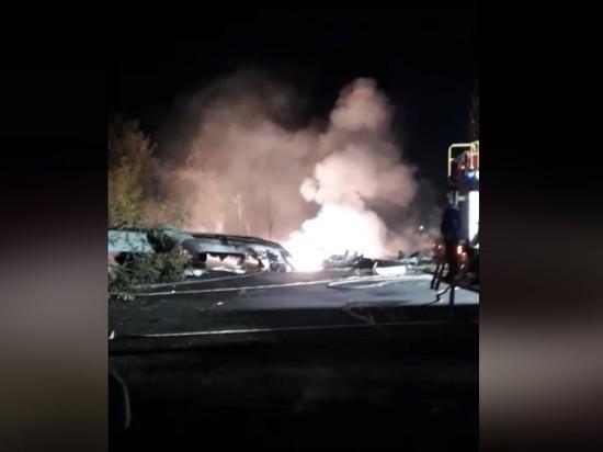 Опубликовано видео разбившегося под Харьковом Ан-26