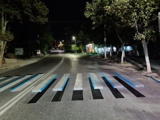 """На дорогах Дагестана появятся """"зебры привидения"""""""