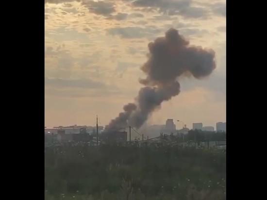 Мощный взрыв прогремел на заводе в Люберцах