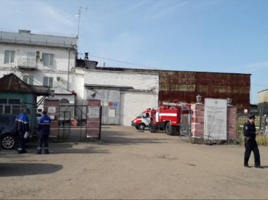 Возгорание возникло в одном из лечебно-исправительном учреждений Ижевска