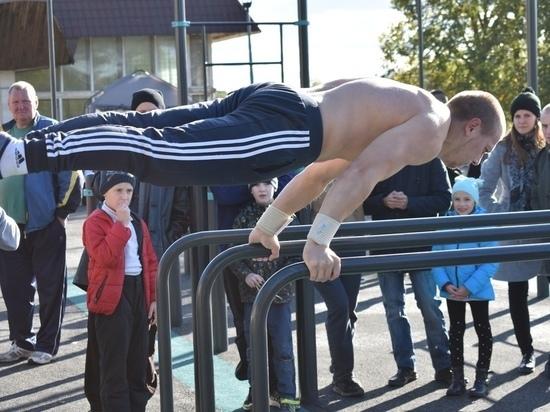 Более 50 псковских студентов приняли участие в мастер-классе по воркауту