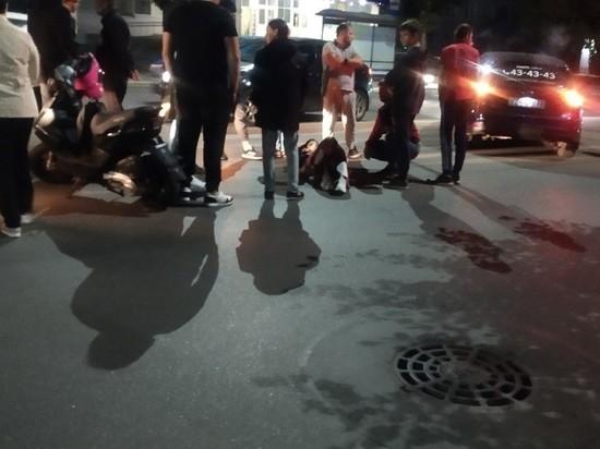 На улице Дзержинского в Рязани сбили девушку