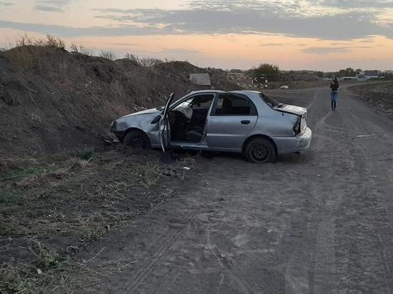 В Ростовской области 14-летняя пассажирка пострадала при опрокидывании «Шевроле»