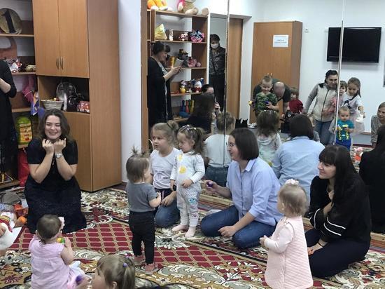 В Салехарде для годовалых детей открыли группу эстетического развития