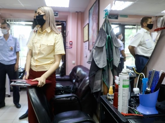 Парикмахерскую в Волгограде оштрафовали из-за отсутствия рециркулятора