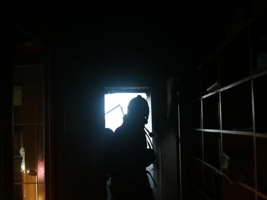 На пожаре в пятиэтажке под Рязанью пострадал человек