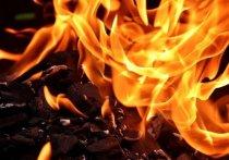 Пожар произошел в ресторане