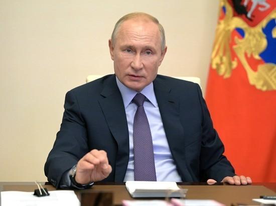 Путин заявил о намерении привиться от коронавируса