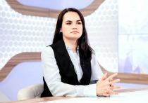 Экс-кандидат в президенты Белоруссии Светлана Тихановская считает, что лидер Франции Эммануэль Макрон мог бы привлечь президента России Владимира Путина к решению политического кризиса в республике