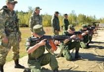 У курсантов серпуховского филиала Военной академии РВСН начинаются занятия на стрельбище.