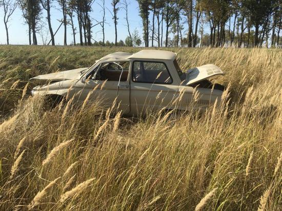 Пьяный водитель на «Запорожце» перевернулся в Рязанской области