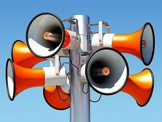В Марий Эл задействуют систему оповещения населения