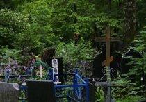 Фатальное происшествие случилось в воскресенье на Старомарковском кладбище, что в поселке Северный