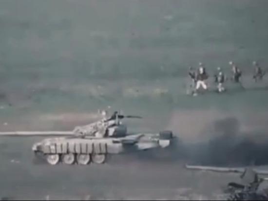 Ереван заявил о широкомасштабном наступлении войск Азербайджана в Карабахе