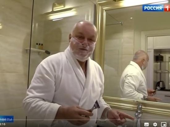 Ведущий бесплатно разрекламировал навесь мир отель, который официально до сих пор не введен в эксплуатацию…