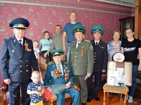 Ставропольский фронтовик-пограничник отмечает 95-летний юбилей