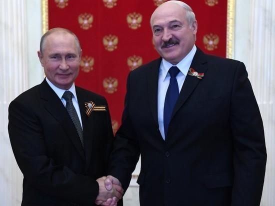 Путин: Россия и Белоруссия будут отстаивать правду о ВОВ