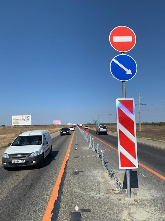 Почти 7,5 км дорожного ограждения установлено на региональных дорогах