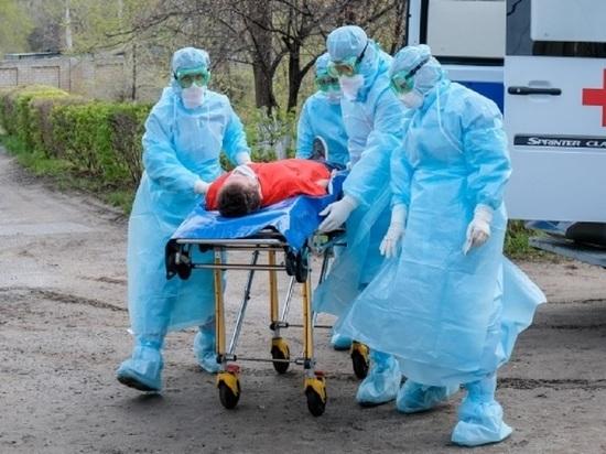 В Волгоградской области 105 человек заболели COVID-19, двое умерли