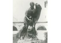 Ученые Горного университета обнаружили металлический предмет во Фрейлинском садике Екатерининского парка – вероятно, это утерянная в Великую Отечественную бронзовая статуя Ниобеи