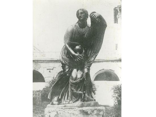 Найдена утерянная в войну уникальная бронзовая статуя Ниобеи