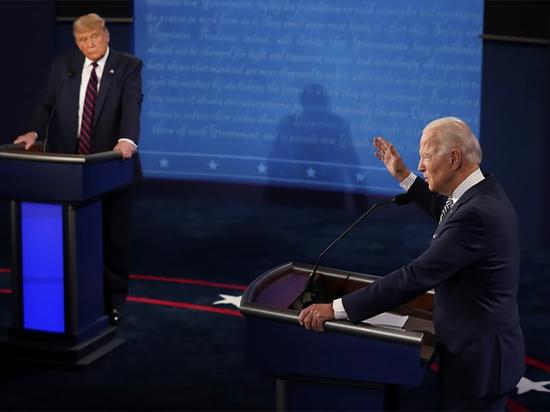 Трамп и Байден открыли дебаты взаимными обвинениями