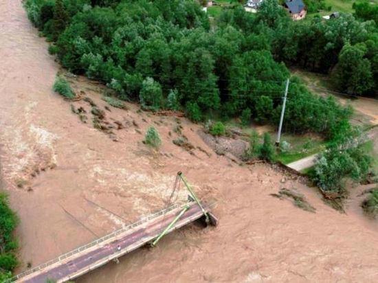МЧС прогнозирует, что уровень воды будет подниматься