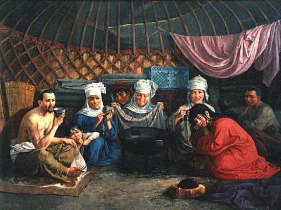 Уят Николая Хлудова. Картины казахстанского художника возглавили список аукционного дома Bonart