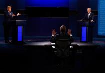 Первые дебаты главных кандидатов на пост президента США прошли в весьма жестком стиле