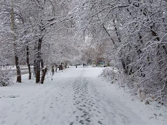 Снег в Омске ожидается уже на следующей неделе