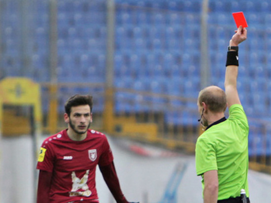 Матч «Рубин»-«Ахмат» будет судить удаливший Кварцхелию в прошлом сезоне арбитр