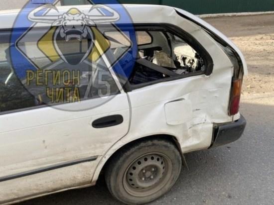Жертвой столкновения двух Toyota стала шедшая по «зебре» читинка
