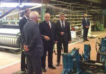 Премьер-министр РФ прибыл в Чебоксары и сразу отправился на «Текстильмаш»