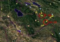 Официальный представитель Минобороны Армении Шушан Степанян разместила в соцсетях видеоролик с картой, на которой показано, как перемещаются боевые самолеты Азербайджана и Турции в зоне карабахского конфликта