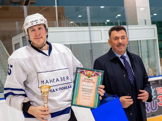Сборная «Мангазея» победила в любительском чемпионате по хоккею в Забайкалье