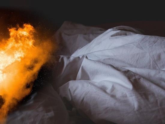 В Ивановской области курение в постели привело к пожару