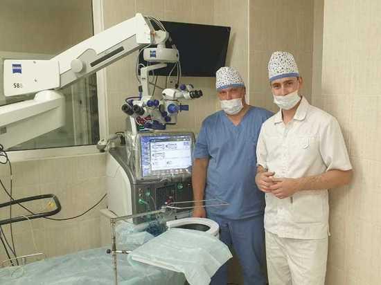 Летом текущего года в Серпухове начало работу медицинское учреждение, которое по праву можно назвать уникальным для нашего города — отделение клиники микрохирургии глаза