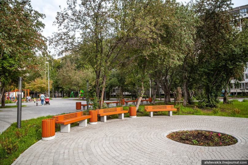 Депутат Андрей Альшевских рассказал, как реконструированный сквер на Пехотинцев дважды пытались застроить