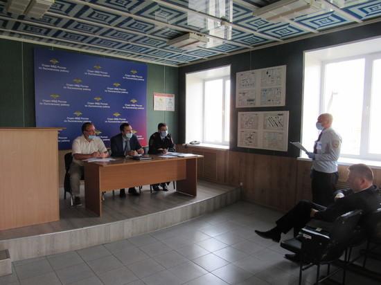 Антитеррористические учения прошли в Лысковском районе