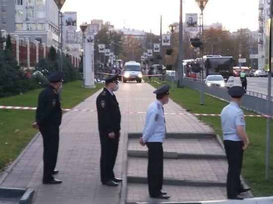 Женщина совершила суицид у здания ГУ МВД по Нижегородской области