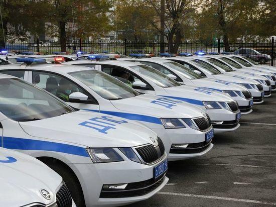 В Кузбассе сотрудники Госавтоинспекции получили 70 автомобилей «Шкода Октавия»